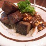 牛タン芯の炙り焼きを蔵元のお味噌で 〜 立ち呑みジャックとマチルダ & いづみ橋(神奈川)